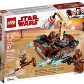 Lego Star Wars Боевой набор планеты Татуин 75198