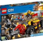 Lego City Тяжелый горный бур 60186