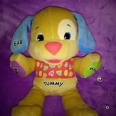 Умный щенок Fisher Price Интерактивная мягкая игрушка на английском языке
