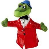 Мягкая игрушка на руку мульти-пульти Крокодил Гена кукольный театр