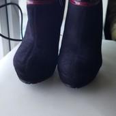 Женские демисезонные ботинки 38 размера