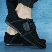 Туфли VanKristi, замшевые, р. 40-45, код gavk-10605