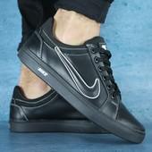 Кроссовки Nike, кожаные, р. 40-45, код gavk-10610