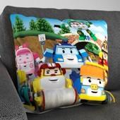 Мягкая подушка 3д печать, мультфильм Поли
