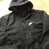 Фирменная куртка на синтепоне Nike р.44-46 XL