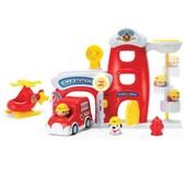 Игровой набор Keenway Пожарная станция и герои