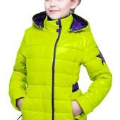 Куртка детская Нана белый, коралл, крем, мята, салатовый, фисташка