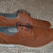 новые мужские туфли Kg by Kurt Geiger 28 см стелька 42-43 размер Англия