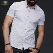 Турецкие мужские рубашки с коротким рукавом.