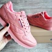 Кроссовки женские Reebok Classics розовые