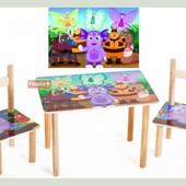 Набор стол и 2 стульчика Лунтик 1400016