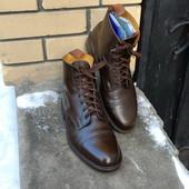 Ботинки Sanders р-р. 43.5-44-й (29.2 см) Англия