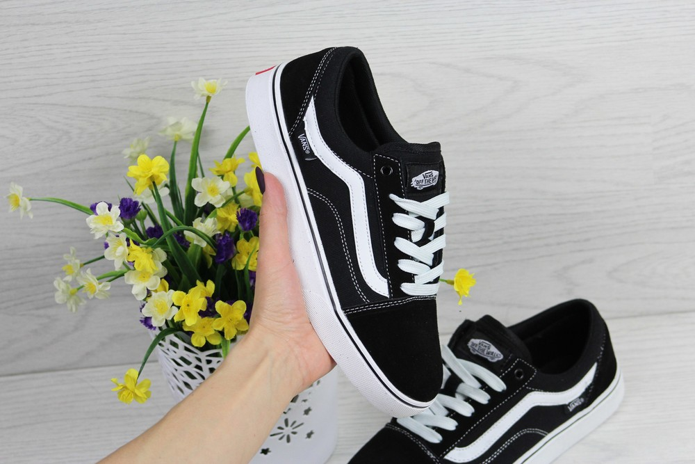 Кеды vans old skool black/white фото №1