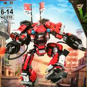 Конструктор Bozhi Ninja 210, 579 дет.,и 211, 2 в 1