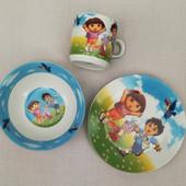 Посуда из керамики Даша следопыт ,3 предмета