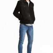Стильні плотні джинси скіни h&m , джинсы