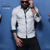 Мужская рубашка  9 расцв.  к4531