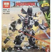 Конструктор Lepin Ninjago ниндзяго 06060 робот Гармадона, 806 дет., аналог Lego ninjago movie 70613