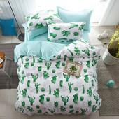 Комплект постельного белья Cactus (полуторный)