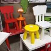 Табурет Детский, Новие якрие цвета!  икеа маммут Ikea Mammut В наличи