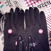 Спортивные перчатки windstopper
