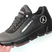 Мужские кроссовки Jordan, натуральная кожа