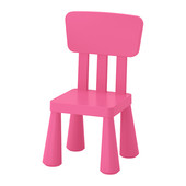 Дитяче крісло рожеве