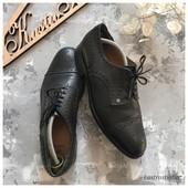 Мужские кожаные туфли броги Aigner рр 43