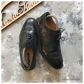 Кожаные туфли броги Sterling&Hunt рр 41