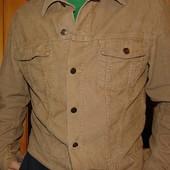 Фирменная вельветовая курточка бренд  l.o.g.g. .л.