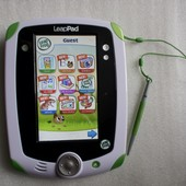Планшет обучающий для детей LeapPad1 LeapFrog + картридж