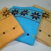Лицевое полотенце махровое (50х100 см) код 0121