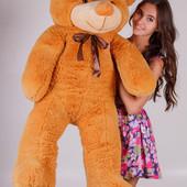 Плюшевая игрушка медведь, мишка 140 см.