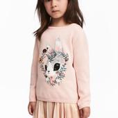 Классные свитерки НМ на девочку в наличии из Англии