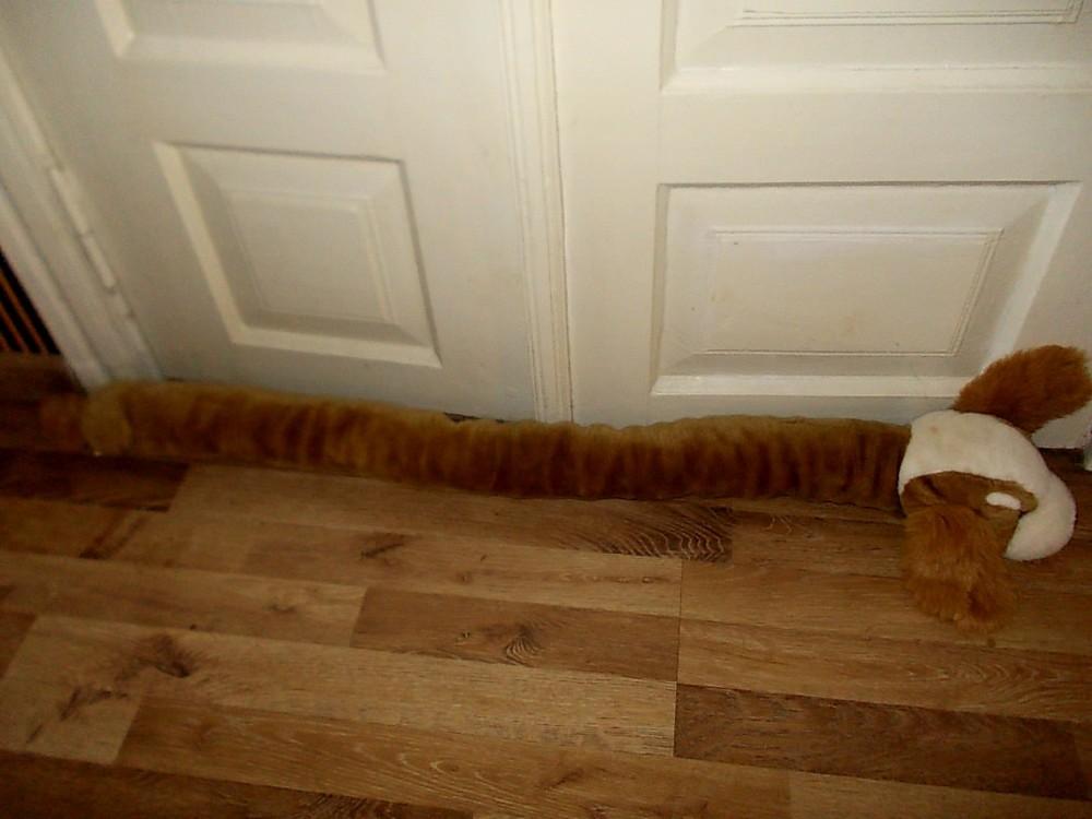 Игрушка под двери или на подоконник от сквозняков фото №1