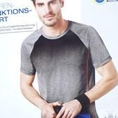 Спортивная мужская футболка градиент размер М,  16-9 Ю