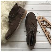 Мужские замшевые ботинки Cotton Traders рр 44