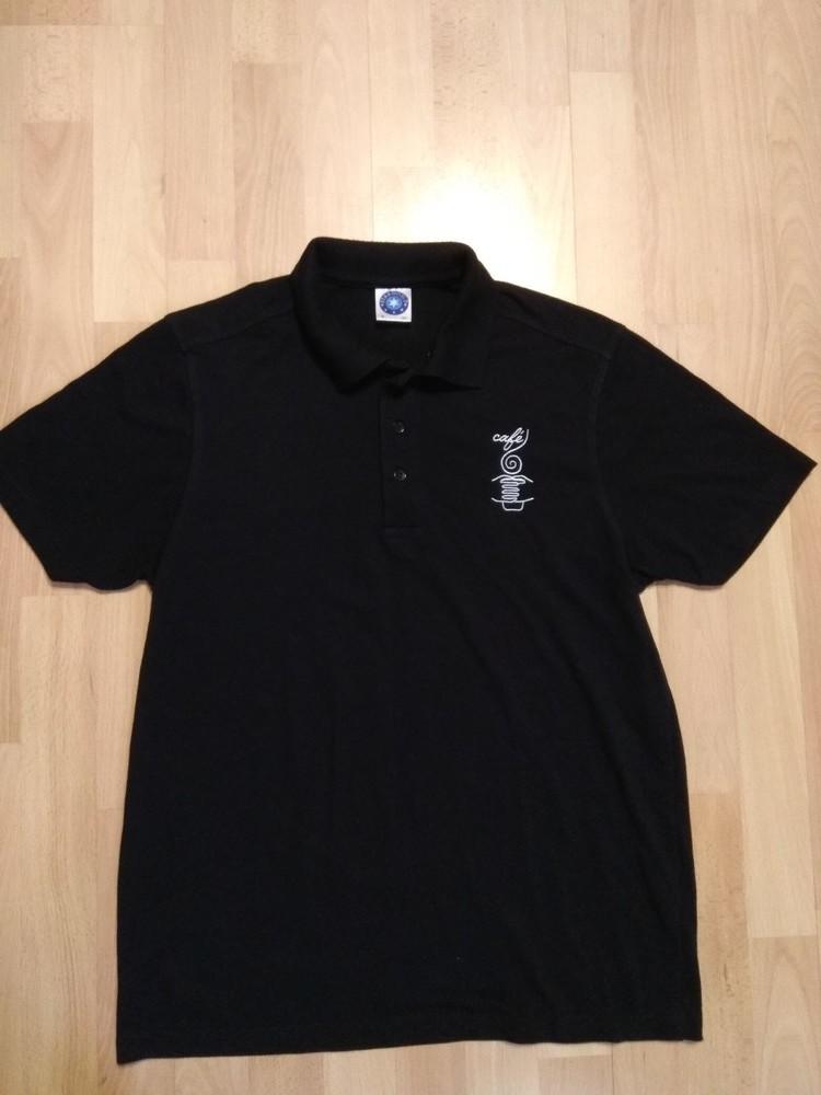 Фирменная футболка поло тениска M фото №1
