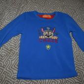 свитер флиска Rebel на 3-4 года рост 104 в сост новой