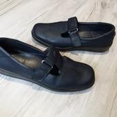 Туфли Hotter 6.5р.  25.5  см. Кожа