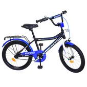 """Двухколесный детский велосипед Profi Top Grade 20"""" (Y20101) с подножкой"""