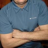 Спортивная фирменная футболка тениска поло Columbia (Коламбия).л .
