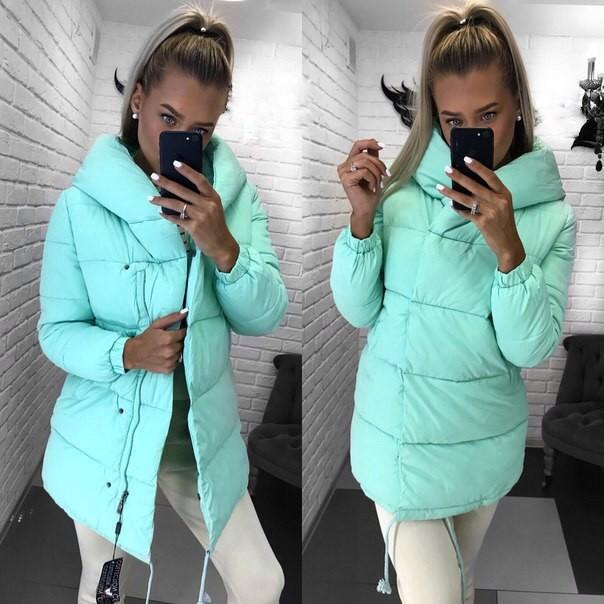 Зимняя качественная курточка зефирка оригинал фото №1