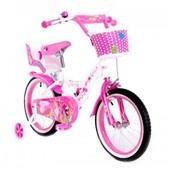 Двухколесный велосипед на девочку на 16 и 20 д Little Queen Маленькая королева