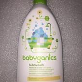 органическая пена для ванны BabyGanics 591 мл  США