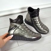 Новинка!ботинки натуральная кожа код: КК код 803-1