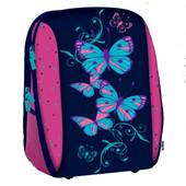 Рюкзак школьный каркасный Butterfly 18-732м-2