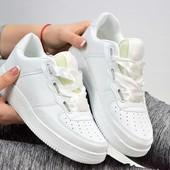 Кроссовки Force белые