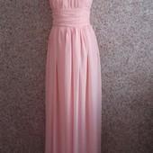 Выпускное персиковое платье, платье для дружки!