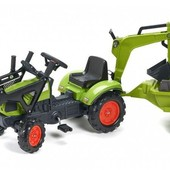 Трактор Педальный с Прицепом и двумя ковшами Ccaas Arion Falk 2040n